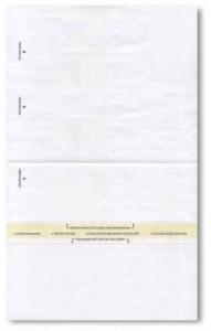 Combination Letterhead Envelope