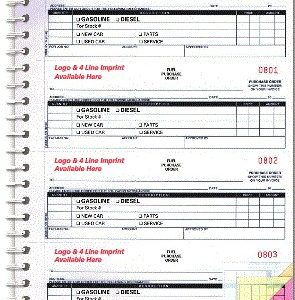 Fuel Purchase Order Book