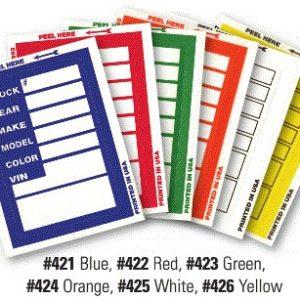 Kleer Bak Stock Stickers