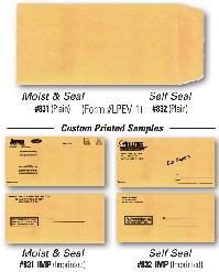 License Plate Envelopes