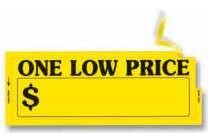 One Low Price Window Stickers