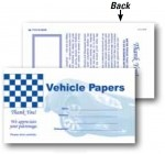 Paper Document Holders Vehicle Paper Wallet