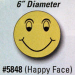 Happy Face Window Stickers