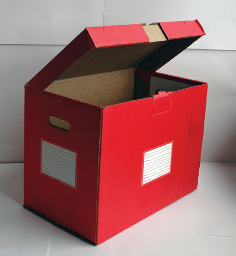 File Folder Storage Boxes