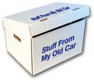 """Stuff From My Old Car"" Storage Box"