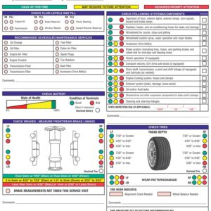 Multi Point Inspection Forms
